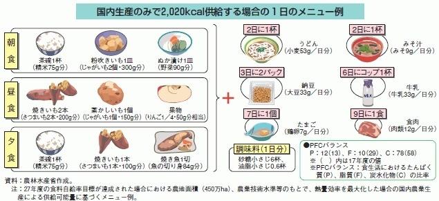 【悲報】日本国民、もうすぐこんな食事しかできなくなる……