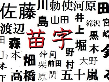 一番なりたくない苗字は「山田」でも「御手洗」でもなくこれ!!!